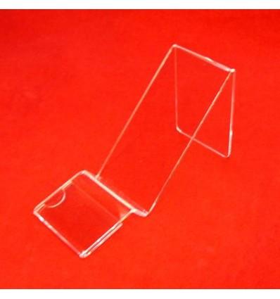 Stojak na telefon komórkowy z plexi przeźroczystej