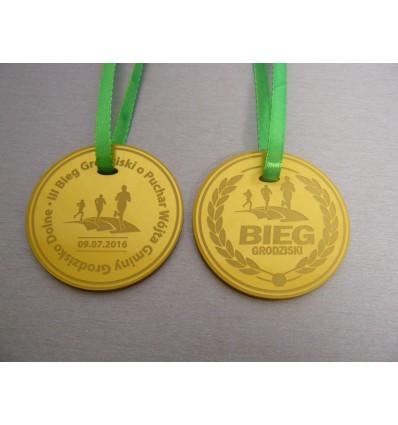 Medal plexi grawer