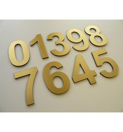 cyfra numer na drzwi