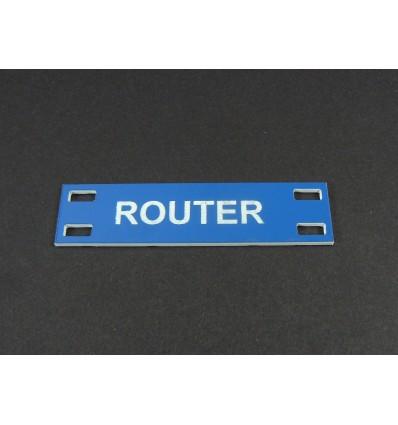 Etykiety tabliczki na kable z laminatu 15x60mm