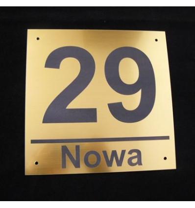 Tabliczka adresowa 20 x 20 cm
