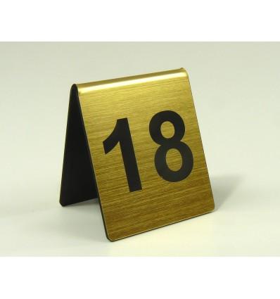 Numerek na stół 6x7cm grubość 1,6mm
