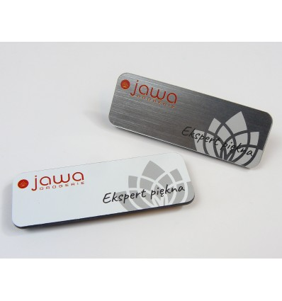Identyfikator personalny na magnes 70x25mm, grubość 1,6mm