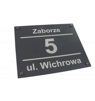 Tabliczka adresowa 30 x 25 cm