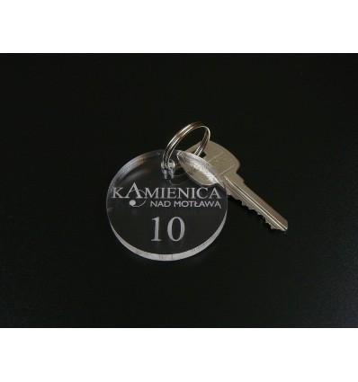 Brelok akrylowy 4x4cm grubość 3mm