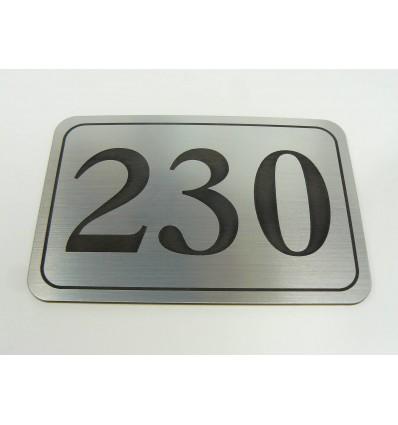 numerek laminat 10x15cm grubość 1,6mm