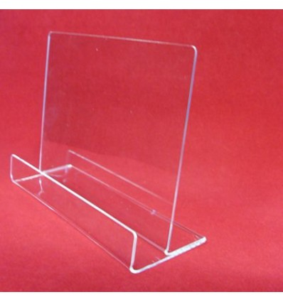Stojak z plexi przeźroczystej na ulotki - poziomy